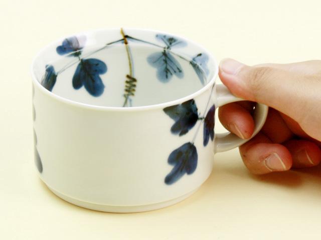 シダ紋 モーニングカップ