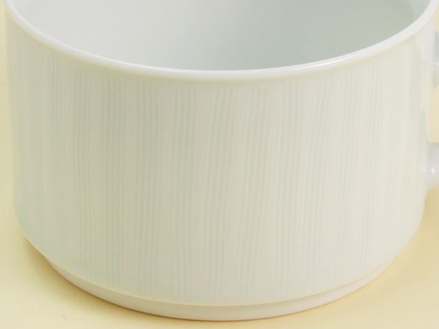 青白磁線彫 モーニングカップ