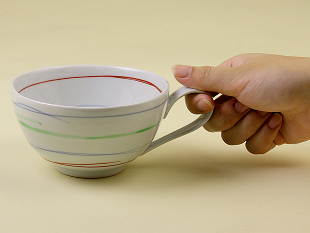 陶房青 いろうず スープカップ