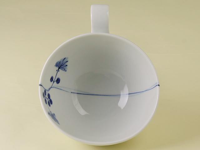 陶房青 つた絵 スープカップ