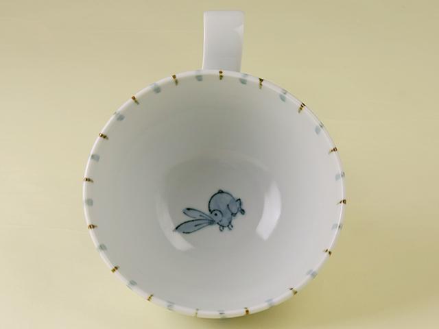 陶房青 太十草 スープカップ