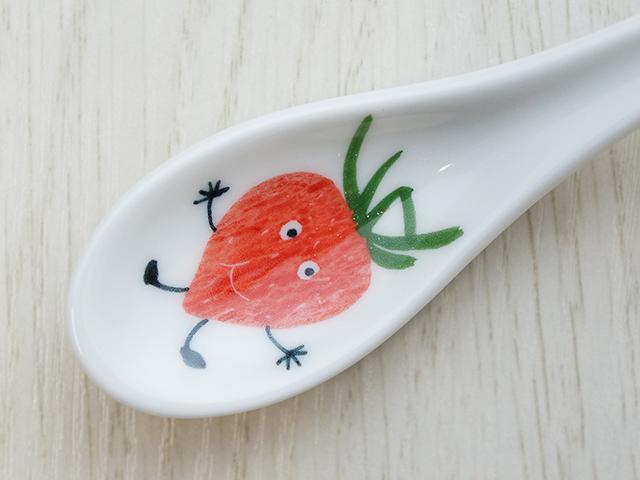 陶房青 イチゴ スプーン