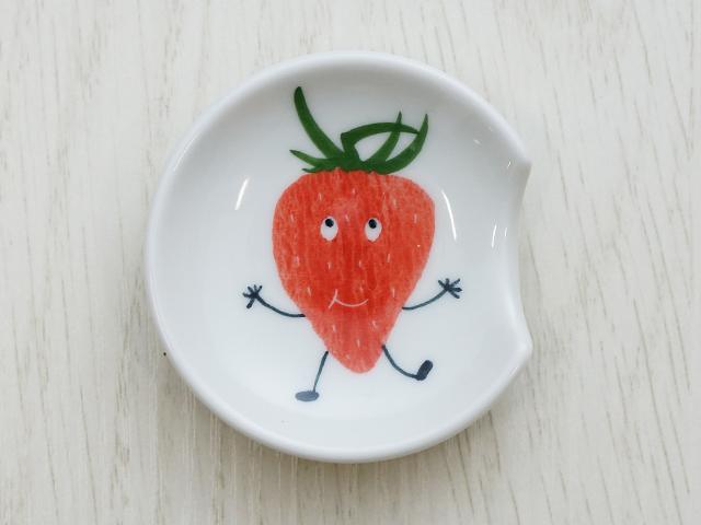 陶房青 イチゴ スプーンレスト